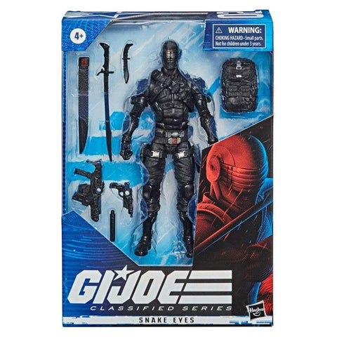 G.I.Joe Snake Eyes figure 15cm