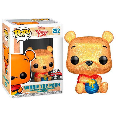 POP figure Disney Winnie the Pooh Seated Pooh Glitter Exclusive