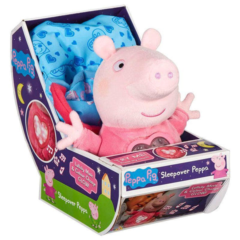 Peppa Pig Pijama Party plush toy with sound 18cm