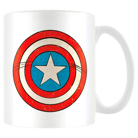 Marvel Captain America Shield mug