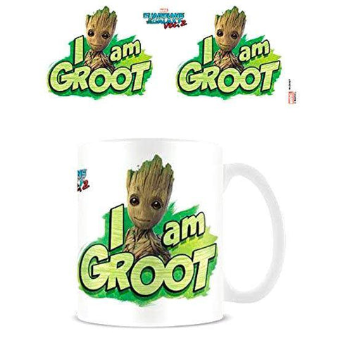Marvel Guardians of the Galaxy I am Groot mug