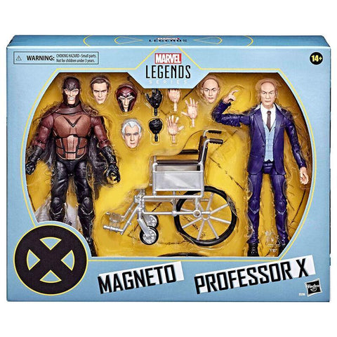 Marvel Legends 20 Anniversary Magneto and Professor X set 2 figures 15cm