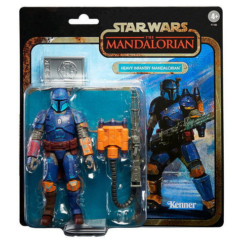 Star Wars The Mandalorian Big Tom Heavy Infantry Mandalorian figure 19cm
