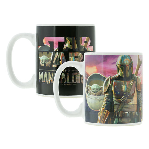 Star Wars The Mandalorian heat change mug