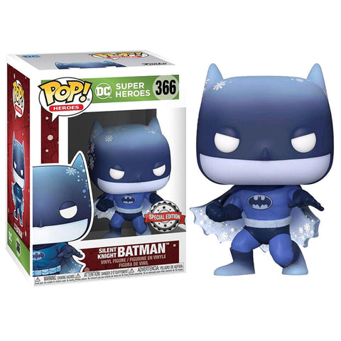 POP figure DC Holiday Silent Knight Batman