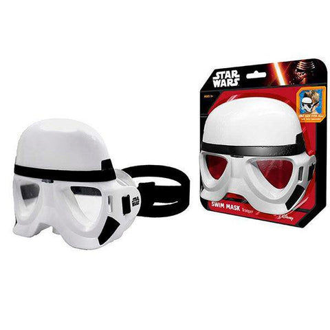 tar Wars Stormtrooper swim mask