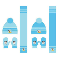 Disney Mickey assorted set scarf hat gloves - InfoGeek