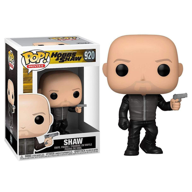 Infogeek MOVIES|FAST AND THE FURIOUS POP figure Fast & Furious Presents Hobbs & Shaw Shaw