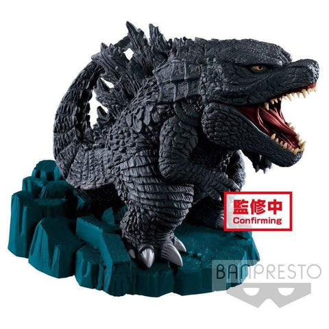 Infogeek MOVIES|GODZILLA Godzilla King of the Monsters Deforume Godzilla figure 9cm