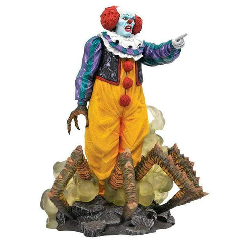 It 1990 Pennywise diorama figure 23cm - InfoGeek