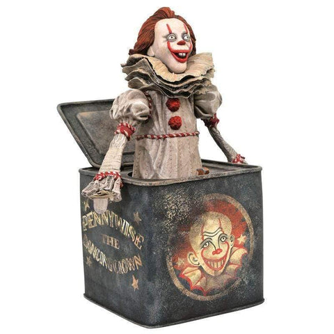 It Pennywise in Box Chapter 2 diorama figure 23cm - InfoGeek