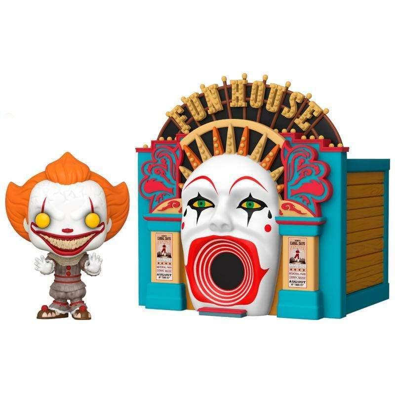 Infogeek MOVIES|IT POP figure IT 2 Demonic Pennywise with Funhouse