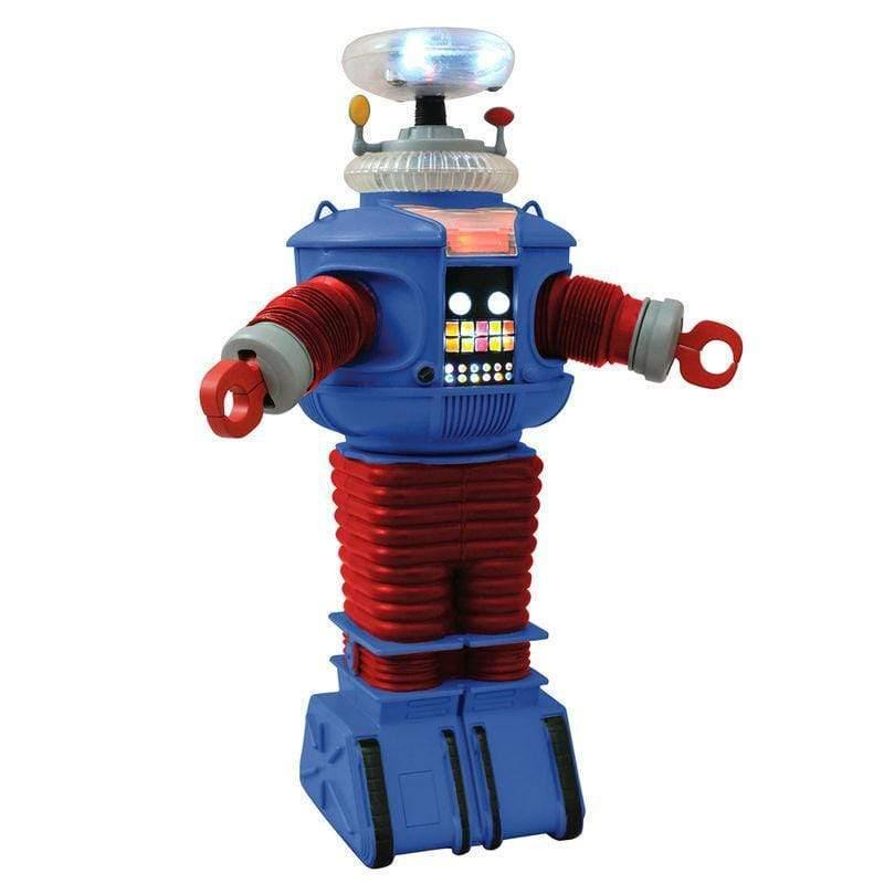 Lost in Space B9 Retro Electronic Robot figure with ligths and sound 25cm - InfoGeek