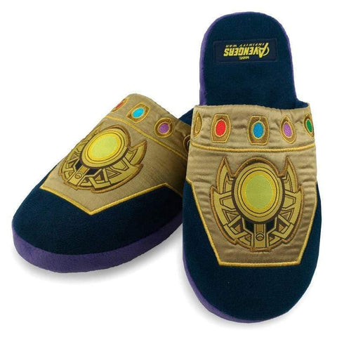 Infogeek POP CULTURE Marvel Avengers Infinity War Thanos mens slippers