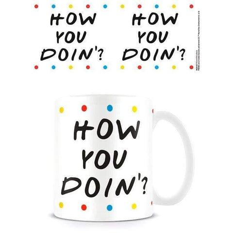Friends How You Doin mug - InfoGeek