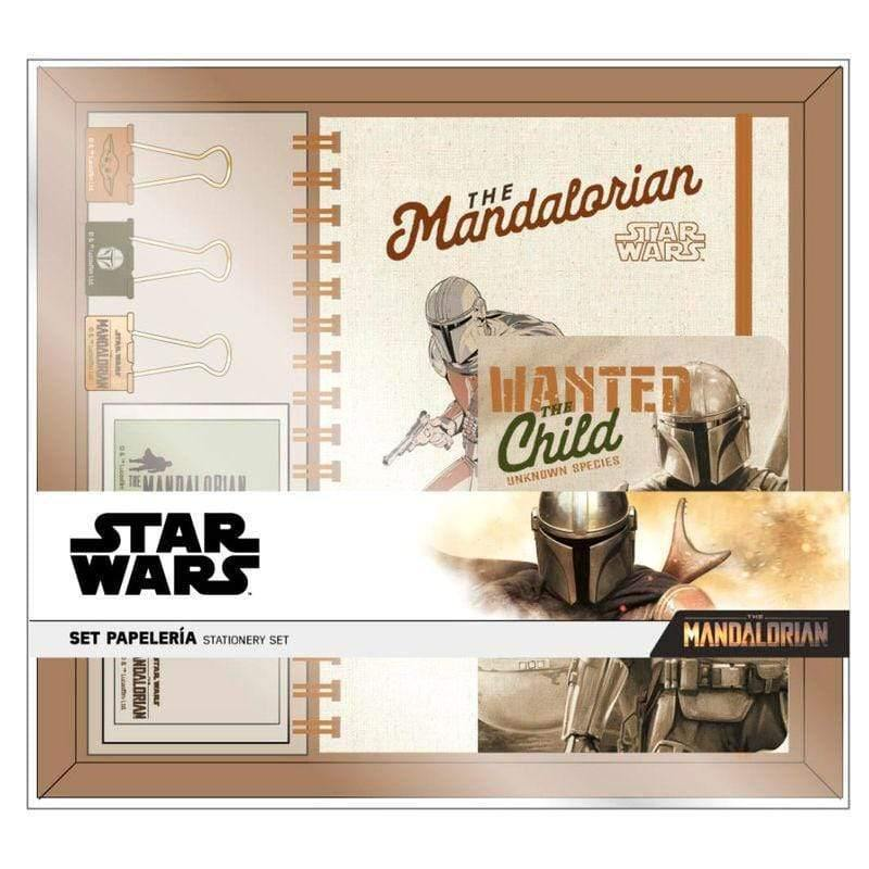 Infogeek TV|MANDALORIAN Star Wars The Mandalorian Yoda Child stationery set