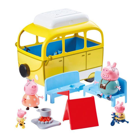 Infogeek TV|PEPPA PIG Peppa Pig Motorhome vehicle playset