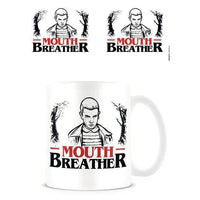 Stranger Things Mouth Breather mug - InfoGeek
