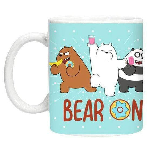 We Bare Bears mint mug - InfoGeek