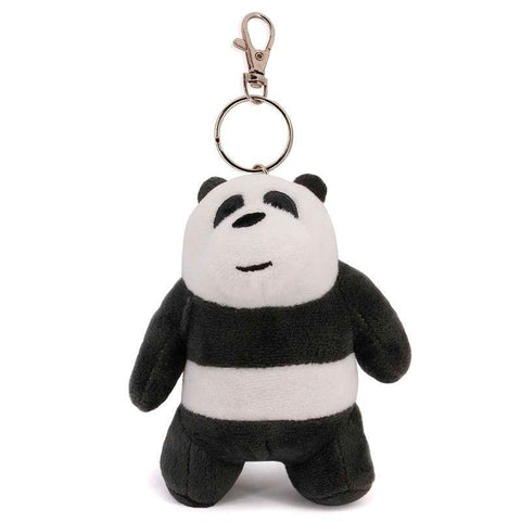 We Bare Bears Panda Bear plush key chain - InfoGeek