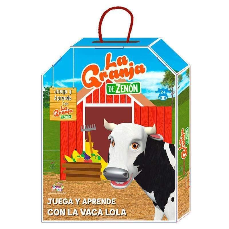 Infogeek TV|ZENON'S FARM The Zenon Farm Lola Cow Play and Learn activities