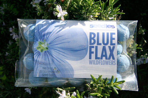 Blue Flax Seedles
