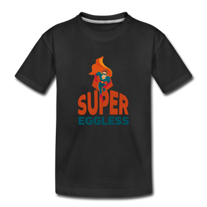 Super Eggless - Toddler Boy T-Shirt - black