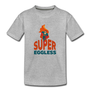 Super Eggless - Toddler Boy T-Shirt - heather gray