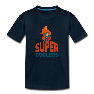 Super Eggless - Toddler Boy T-Shirt - deep navy