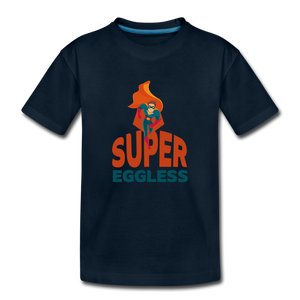 Super Eggless - Toddler T-Shirt - deep navy