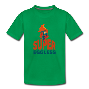 Super Eggless - Toddler T-Shirt - kelly green