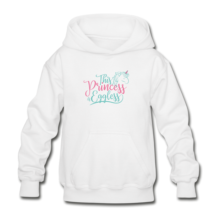 This Princess is Eggless - Girl Hoodie