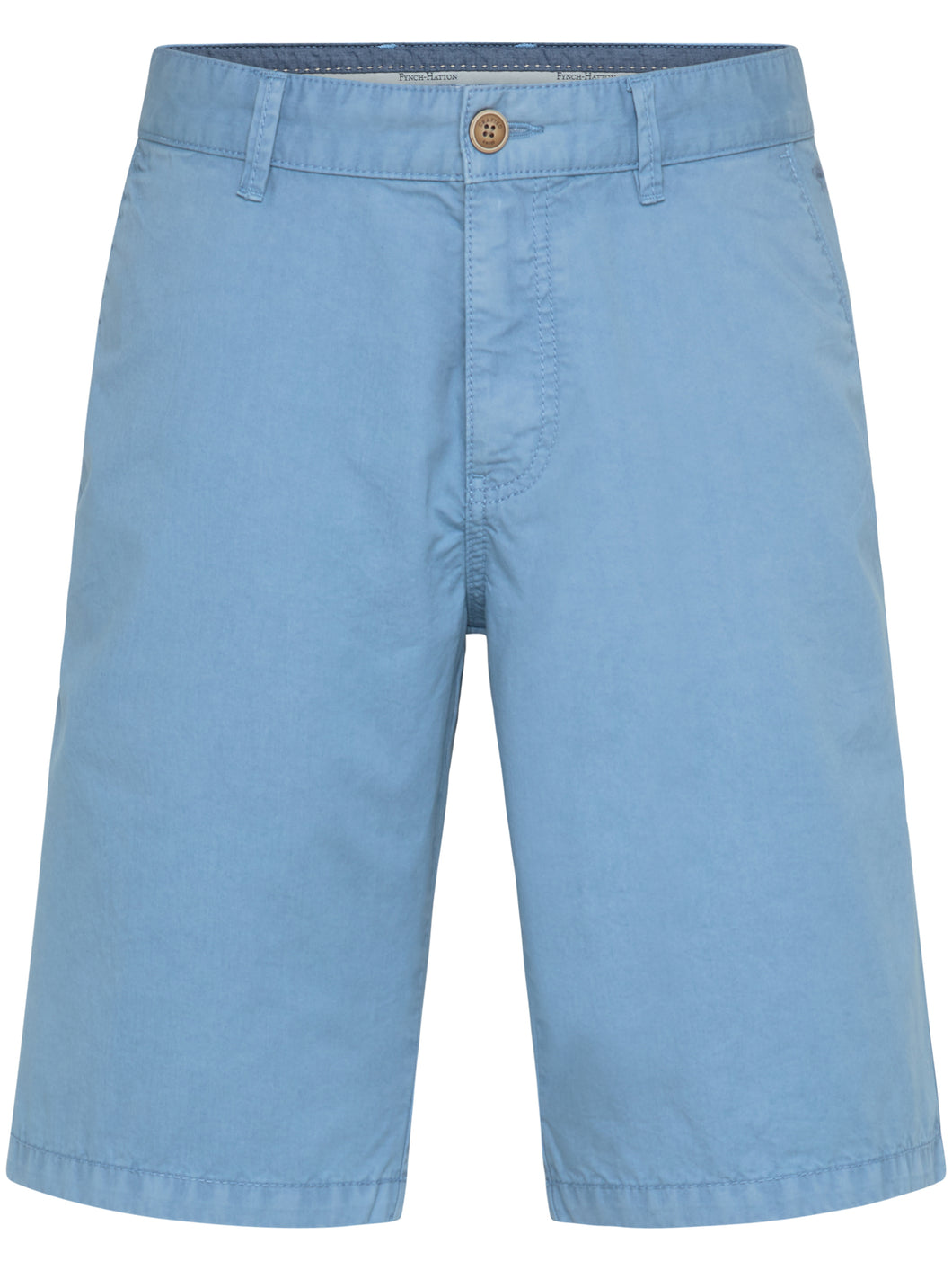 Fynch Hatton Shorts, Cotton, Garment Dyed in regular Classic fit.    Chosen in  Soda