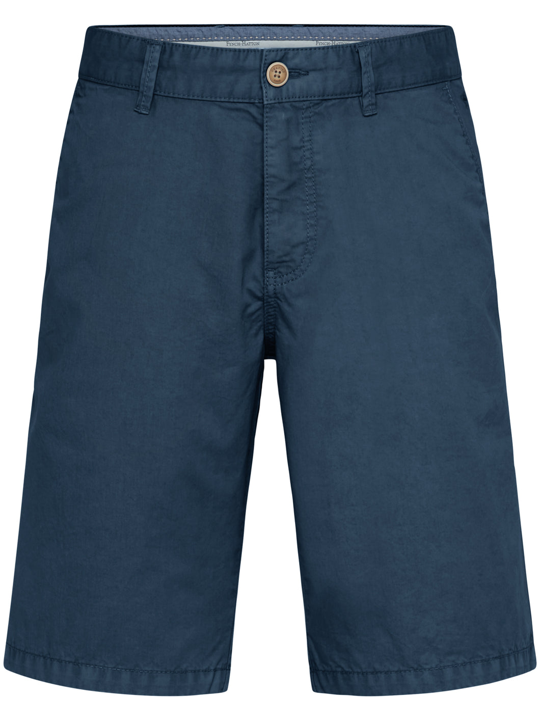 Fynch Hatton Shorts, Cotton, Garment Dyed in regular Classic fit.    Chosen in  Night