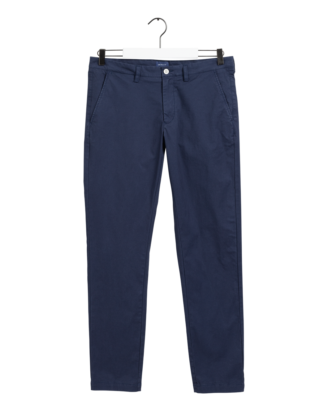 Gant Trousers in regular Classic fit.   The Hallden Sunfaded Chinos    , chosen in a Marine colour