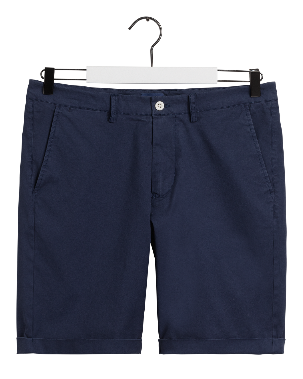 Gant Shorts in regular Classic fit.   The Regular Sunfaded Shorts    , chosen in a Marine colour