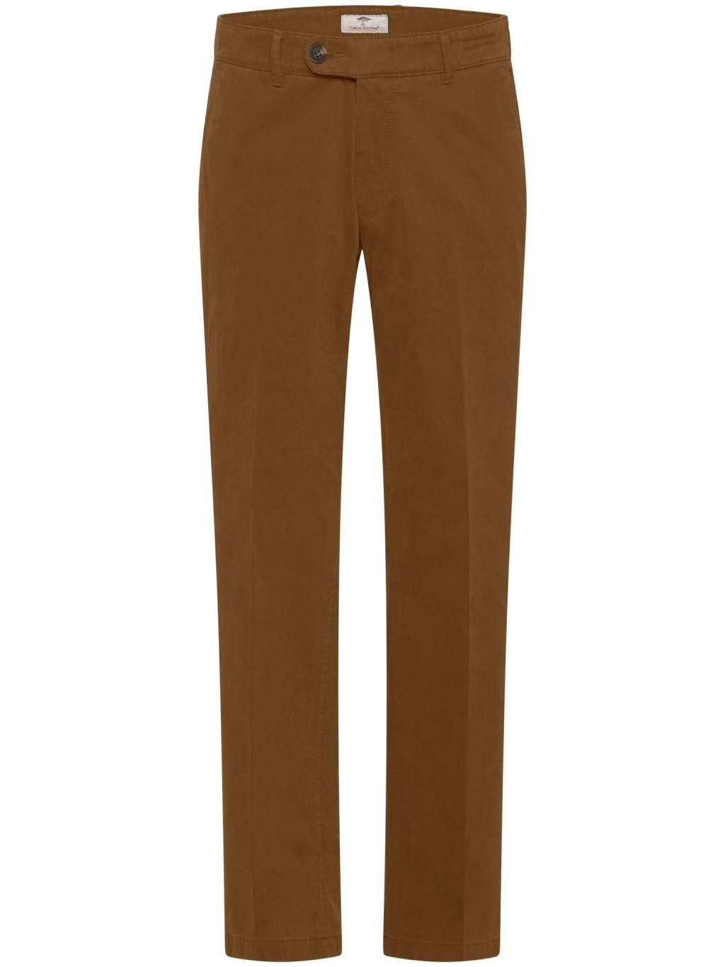 Fynch Hatton Chinos in regular classic fit. Togo, Flat Front, chosen in a Mustard colour