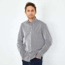 Load image into Gallery viewer, Eden Park Shirt in regular classic fit.    chosen in a blue stripe colour