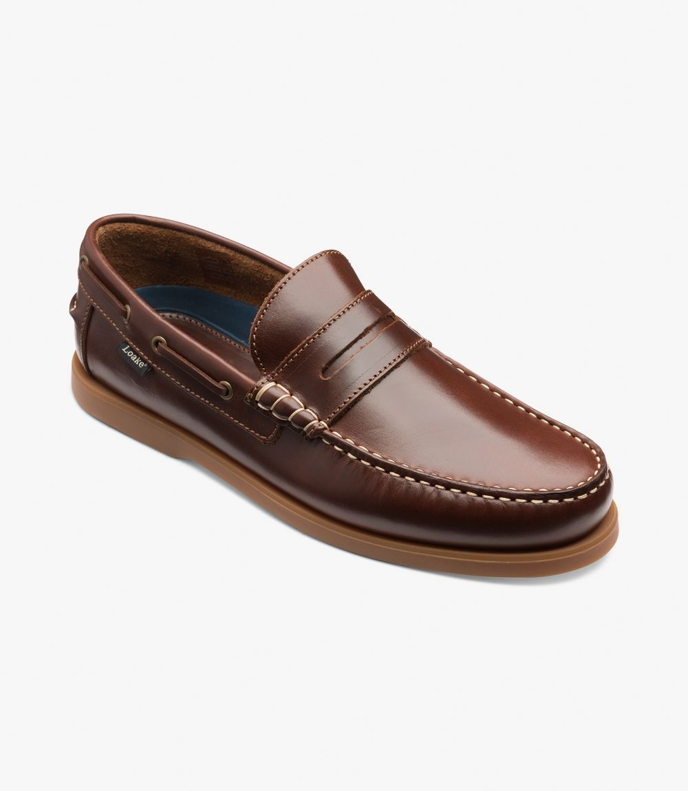 Loake Plymouth Brown Rubber Sole / Loake Lifestyle