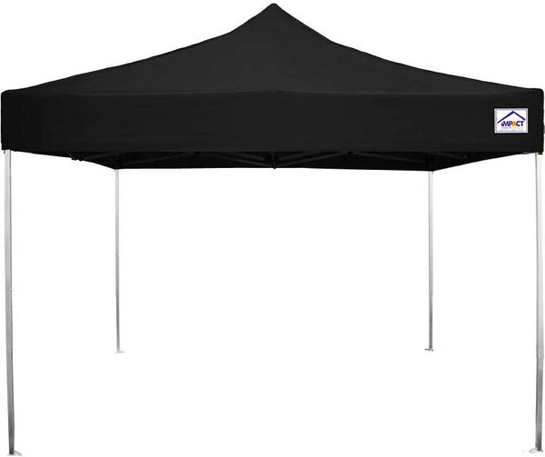 Impact Canopy 10 x 10 Ultra Light Aluminum Pop Up Canopy Tent with Roller Bag