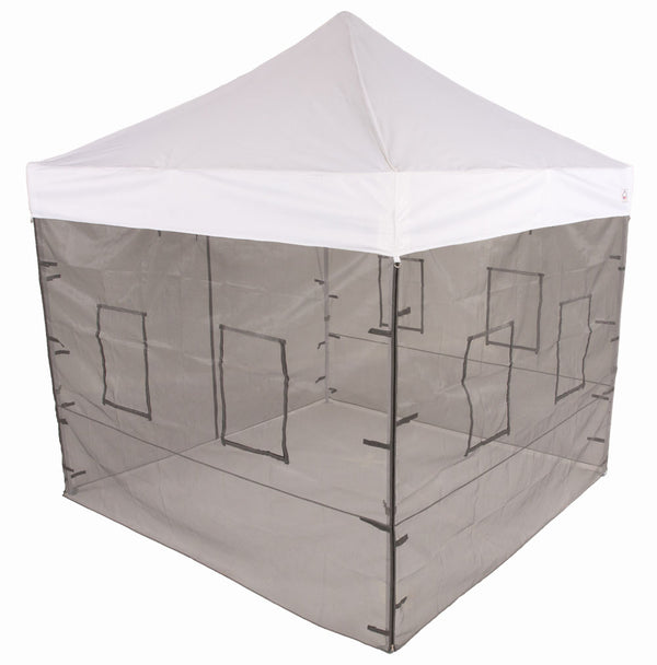 Impact Canopy 10 x 10 Pop Up Canopy Tent with Food Service Vendor sidewalls