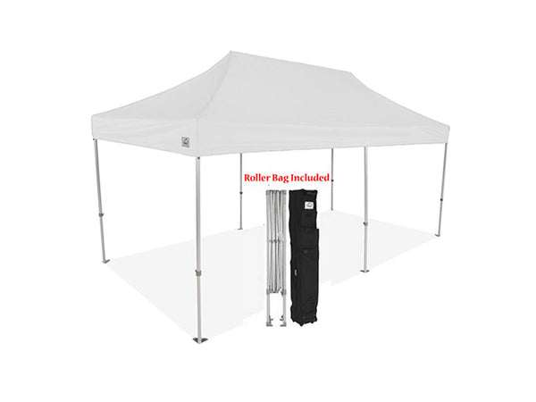 Impact Canopy 10 x 20 ML Pop Up Canopy Aluminum Commercial Grade with Roller Bag