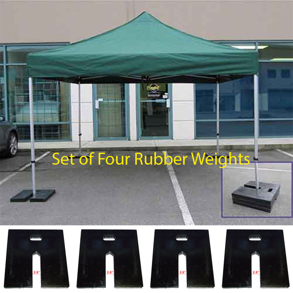 Outdoor Pop Up Canopy and Flag Weight Plates - Set of 4
