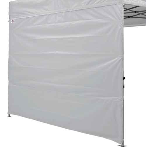 8' Canopy Tent Zippered sidewall, One Wall Only