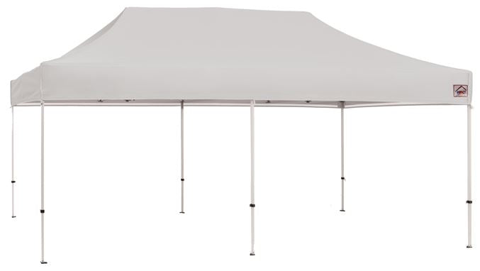 Impact Canopy 10 x 20 Evento Canopy, Steel Frame, with Roller Bag, White