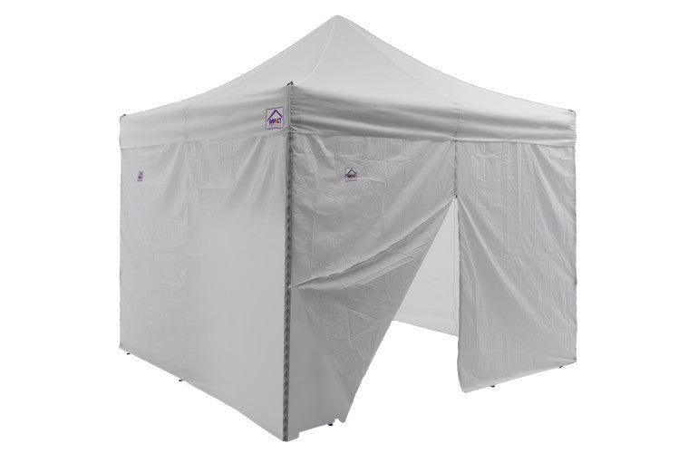 Impact Canopy 10 x 10 AOL Canopy, Aluminum Frame, Matching Sidewalls and Roller Bag