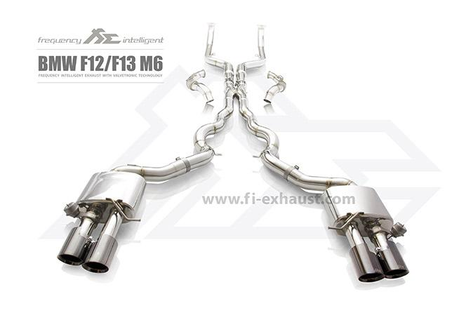 Frequency Intelligence Exhaust For BMW M6 F07/F07F12/F13