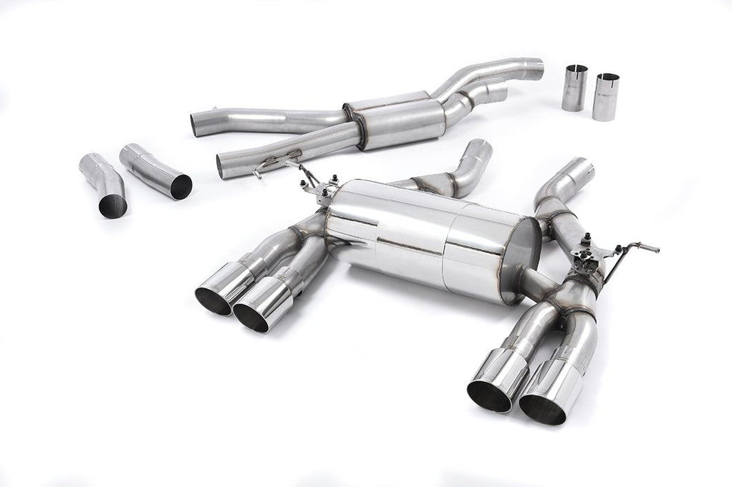Milltek Sport Cat Back Exhaust Race System For BMW M4 F82