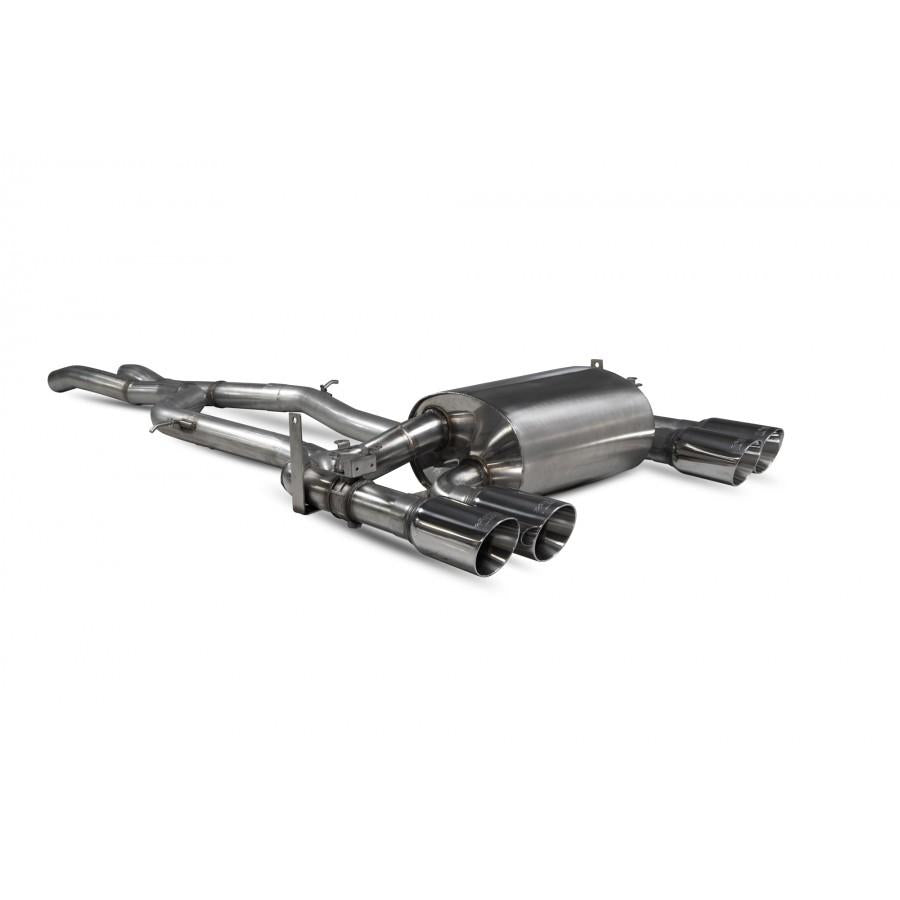 Scorpion Exhausts Cat-back system with electronic valve BMW M4 F82/3