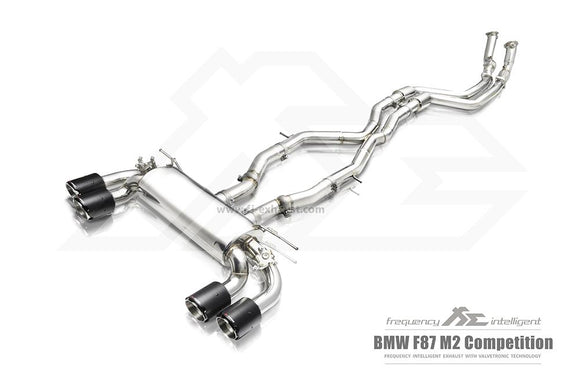 Frequency Intelligence Exhaust For BMW M2 Competition F87